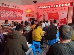 合阳县路井镇:产业技术培训