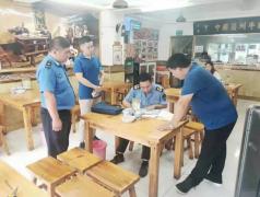 灞桥区市场局十里铺食药所联合执法 提升国卫复审工作效能