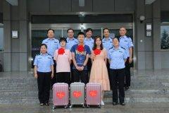 合阳县公安局举办民警子女高考升学座谈会