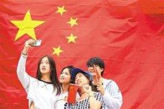 中国网民爱国热情高涨: