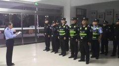 合阳县公安局打响