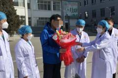 榆林首例治愈患者出院: