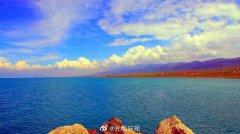 水位持续回升,青海湖面