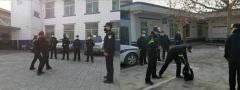 蒲城县公安局集中发力