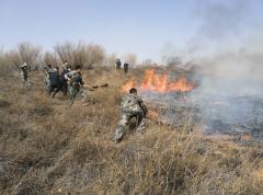 神南产业8名矿山救护指战员逆行救火