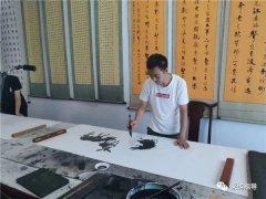 渭南市青年书画家李伟强:只有文化自信,才能浓墨绘出大好人