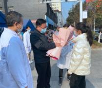 洛市中医医院护士支援西安咸阳国际机场防疫任务平安归来