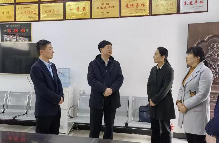 张礼进深入丹凤县调研纪检监察工作
